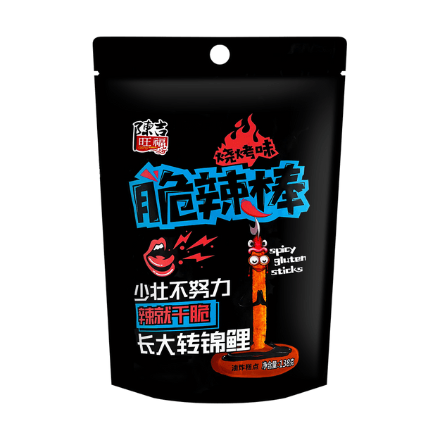 Product Detail - CHENJIWANG Crispy Spicy Stick BBQ Flavor 138g - image  0