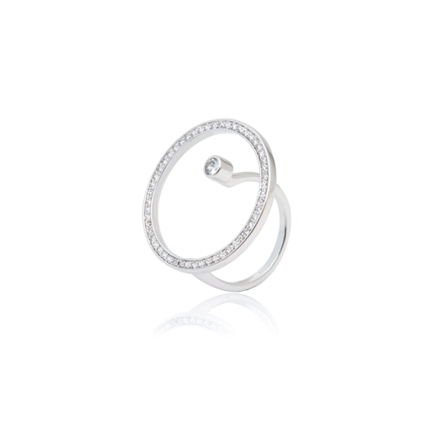 ARSIS Hoop Asymetric Ring 1 piece