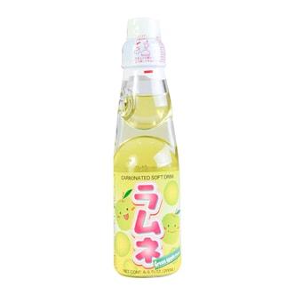 日本HATA RAMUNE 青苹果味弹珠汽水 200ml