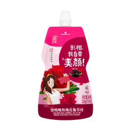 COINS Grass Jelly Drink Rose Flavor 218g