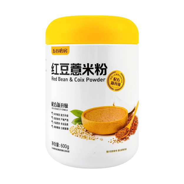 Product Detail - WUGU MOFANG Red Bean & Coix Meal 600g (New Formula New Packaging) - image 0