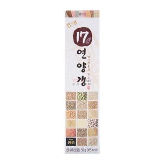 韩国HAITAI 17种谷物炼羊羹 58g