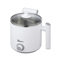 Electric S.S Hot Pot Kettle, 1.2 L, 1 Year Mfg Warranty, NPC-1205, 120V