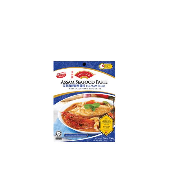 商品详情 - 【马来西亚直邮】马来西亚 DOLLEE 多利牌 亚参海鲜即煮酱料 200g - image  0