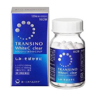 TRANSINO Whitening Pills 120 Capsules