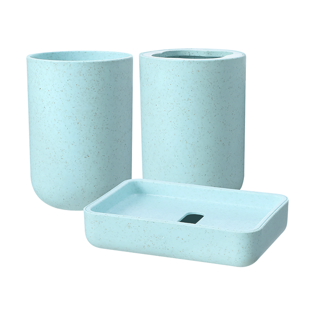 Product Detail - Miniso Bathroom Accessories 3 Pcs - image 0