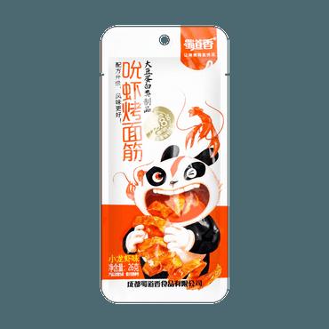 蜀道香 吮虾烤面筋 小龙虾味 26g