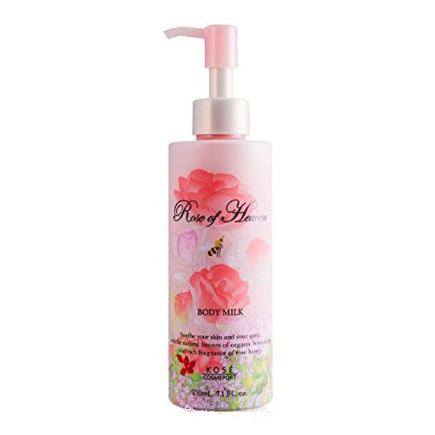 Product Detail - KOSE ROSE OF HEAVEN Body Milk Lotion 210ml - image 0