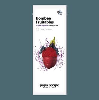 韩国PAPA RECIPE春雨 果蔬系列 紫色密集提拉面膜 单片入