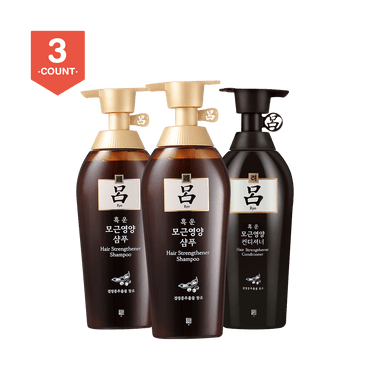 RYO Hair Strengthener Shampoo*2+Conditioner*1