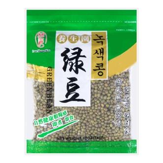 台湾林生记 养生园绿豆 340g