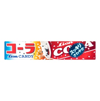 LION Cola Flavor Soda Sweet Candy 40g
