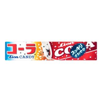 日本LION狮王 可乐汽水碳酸硬糖 40g