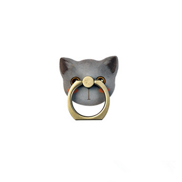 Product Detail - MAOXIN Original Art Illustrations Cute Cat Series Phone Ring Holder Erin 1PC - image 0