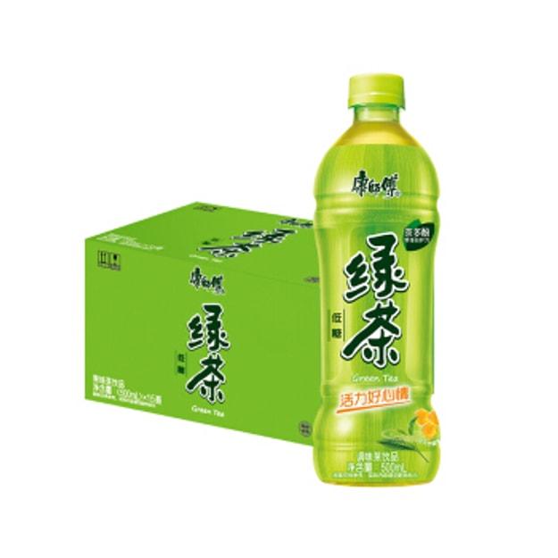 商品详情 - 康师傅 蜂蜜绿茶 1箱 15瓶 - image  0