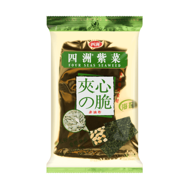Product Detail - Four Seas Seaweed with Filling Pumpkin Seed 15g - image 0