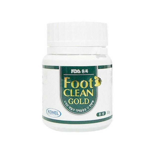 商品详情 - 韩国GANGNAM SHOP Foot Clean Gold 脚气入浴粉 无效退款保证 30g - image  0