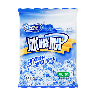 康雅酷 冰粉粉创意DIY甜品 原味 40g【新老包装随机发】