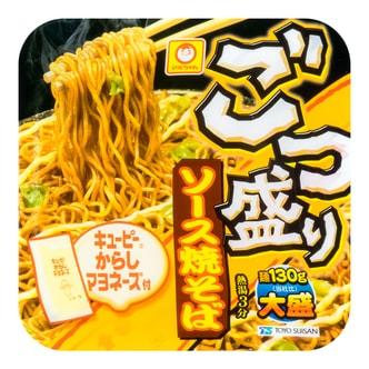 日本MARUCHAN 日式酱汁炒面 芥末蛋黄酱味 171g 世界十大最好吃泡面