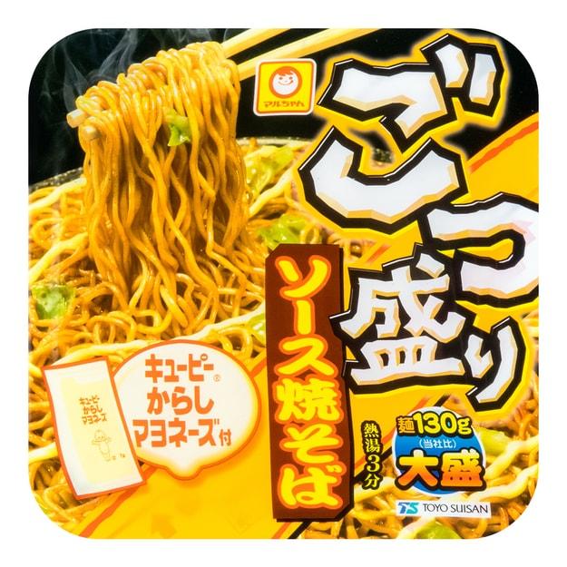 商品详情 - 日本MARUCHAN 日式酱汁炒面 芥末蛋黄酱味 171g 世界十大最好吃泡面 - image  0
