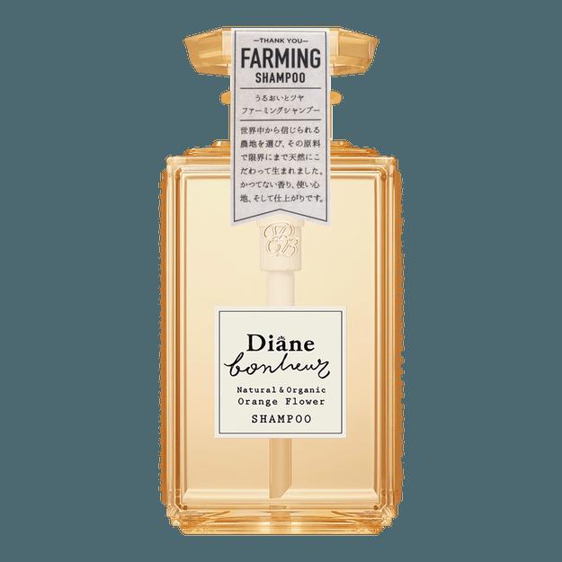 Product Detail - MOIST DIANE BONHEUR Natural & Organic Shampoo Orange Flower 500ml - image 0