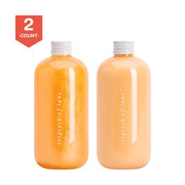 Triptych Of Lune Repair Shampoo+Conditioner Citrus 400ml+400ml