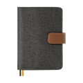 Calendar Planner Diary Stationery Notebook Handbook #A6 Handbook - Dark Grey