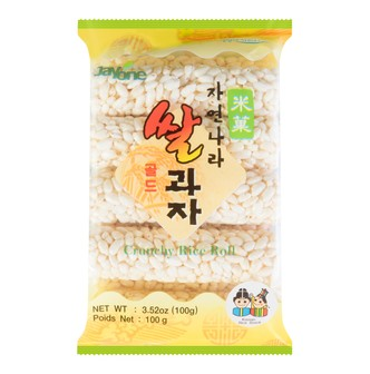Jayone Crunchy Rice Roll 100g