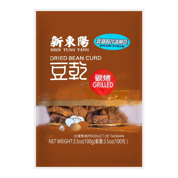 Product Detail - HSINTUNGYANG Grilled Dried Bean Curd 100g (new packaging) - image 0
