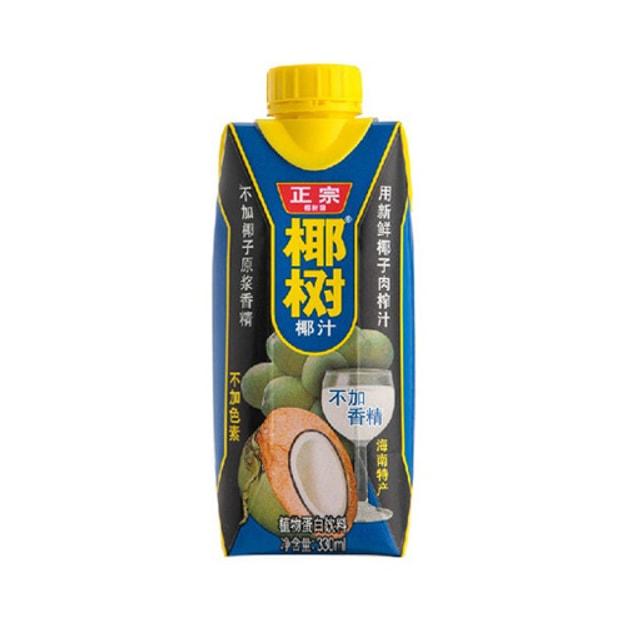 商品详情 - 海南椰树牌 椰汁 330ml 国宴饮料 - image  0