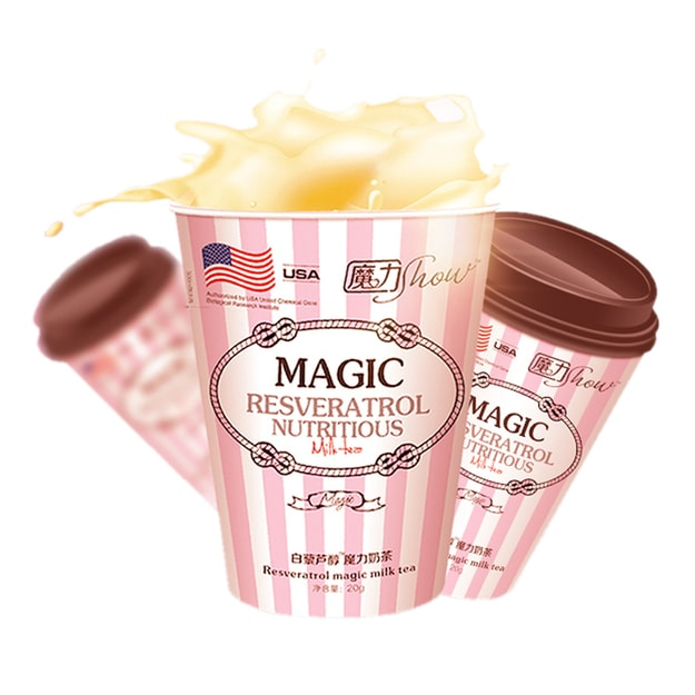 MAGIC SHOW Instant Milk Tea Original Flavor 20g/Cup