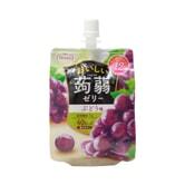[日本直邮] 日本TARAMI 多良见蒟蒻果汁果冻葡萄味 150g