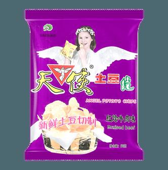 天使 土豆片 红烩牛肉味 50g