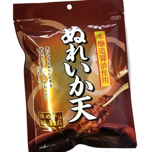 商品详情 - 【日本直邮】NATORI 日本秘制酱油酿造天妇罗鱿鱼片  70g - image  0