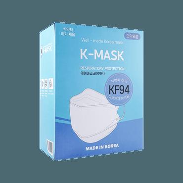 韩国进口 K-Mask KF94 韩国最高标准防护口罩 防飞沫粉尘微粒雾霾 50片入
