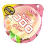 【日本直邮】UHA悠哈味觉糖 全天然果汁软糖 夏季限定水蜜桃味 40g