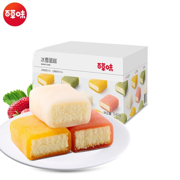 Product Detail - BE&CHEERY Ice and snow cake 540g - image 0