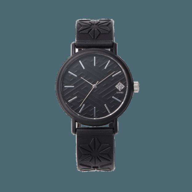 商品详情 - KAORU||和风香味时尚手表||黑色 墨香 - image  0