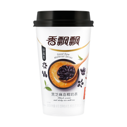 XIANGPIAOPIAO Black Sesame and Sticky Rice Milk Tea 88g