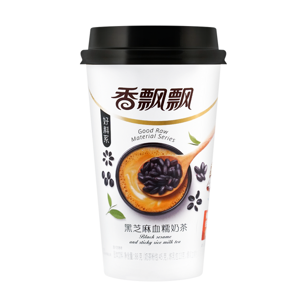 商品详情 - 香飘飘 好料系 黑芝麻血糯奶茶 88g - image  0