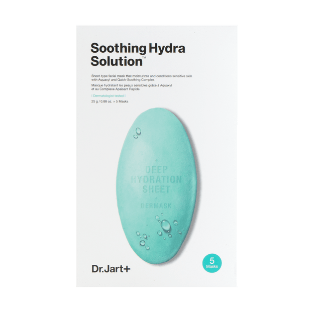 Product Detail - DR.JART+ Dermask Water Jet Soothing Hydra Solution Mask 5sheets - image 0