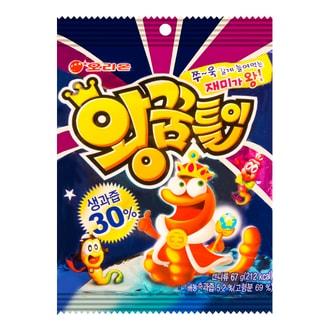 韩国ORION好丽友 毛毛虫软糖 67g