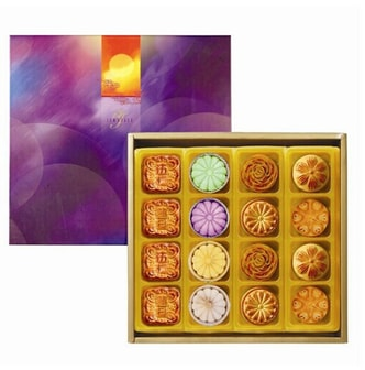 ISABELLE Masquerade Moon Assorted Mooncake 16pcs Gift Box