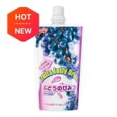 SHIRAKIKU Fruits Jelly Drink Grape Flavor 150g