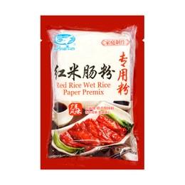 白鲨 红米肠粉专用粉 糕点预拌粉 500g