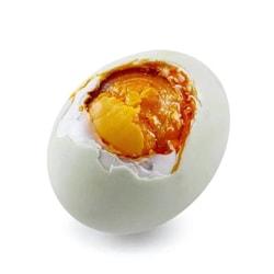 【中国直邮】五芳斋咸鸭蛋 原产地直邮 流油咸蛋黄 端午节食品 60g1枚