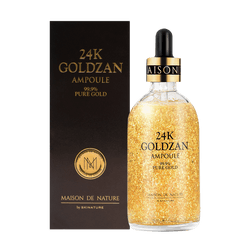 SKINATURE 24K Goldzan Ampoule 99.9% Pure Gold 100ml