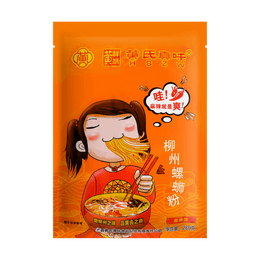 H S Z W Huang River Snail Rice Noodles(Spicy) 280g