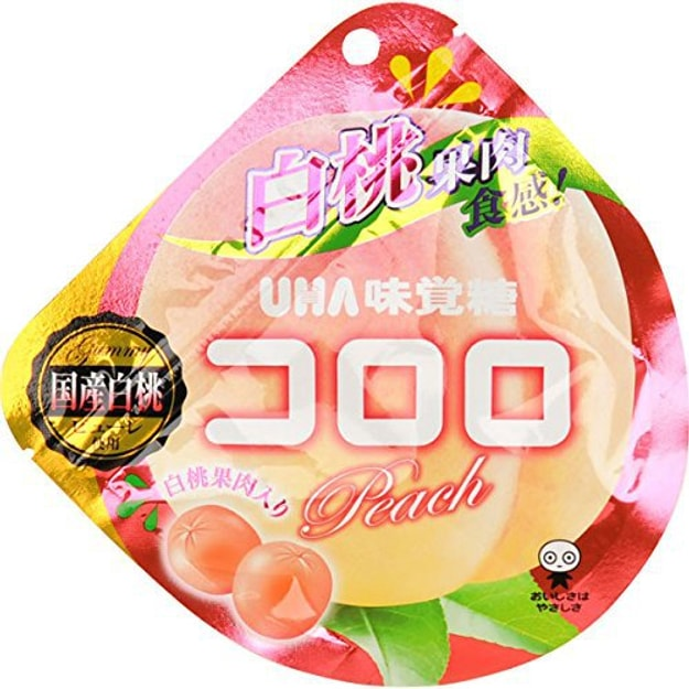 Product Detail - UHA Fruit Candy Peach Flavor Summer Limited 40g - image 0