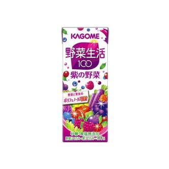 日本KAGOME野菜生活 抗氧化美颜紫色蔬果汁 200ml